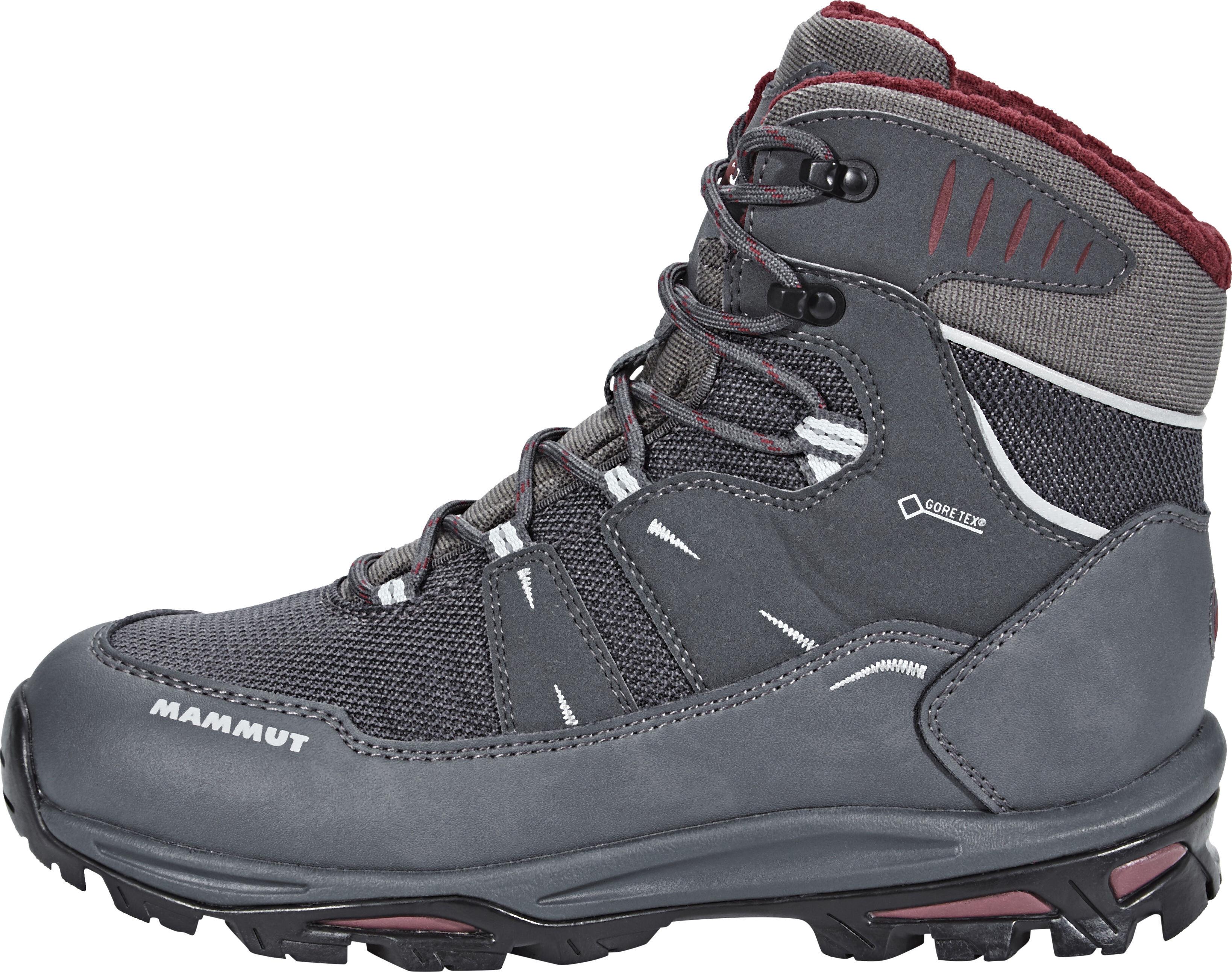 3599dd2de15 Mammut Runbold Tour High II GTX Shoes Women graphite-merlot